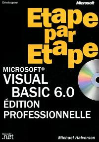 Microsoft isual Basic 6.0 édition professionnelle étape par étape