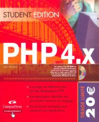 PHP 4X, student édition