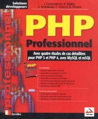PHP professionnel : avec quatre études de cas détaillées