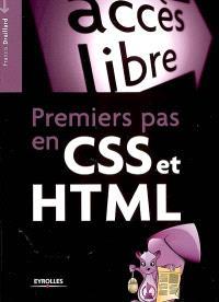 Premiers pas en CSS et HTML