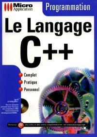 Programmation : le langage C++