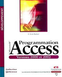 Programmation avec Access 2002