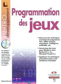 Programmation des jeux