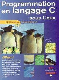 Programmation en langage C sous Linux