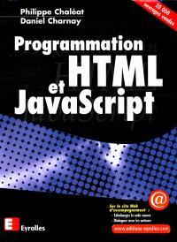 Programmation HTML, et JavaScript
