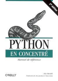 Python en concentré : manuel de référence