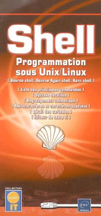 Shell : programmation sous Unix-Linux