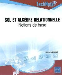 SQL et algèbre relationnel : notions de base