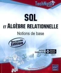 SQL et algèbre relationnelle : notions de base