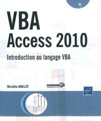 VBA Access 2010 : introduction au langage VBA