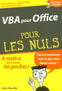 VBA pour Office pour les nuls