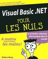 Visual Basic .Net pour les nuls