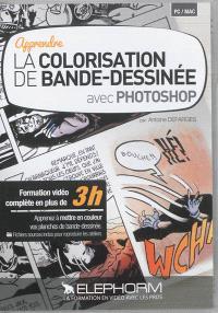 Apprendre la colorisation de bande dessinée avec Photoshop