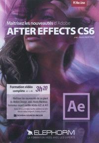 Maîtrisez les nouveautés d'Adobe After Effects CS6