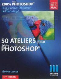 50 ateliers pour Photoshop