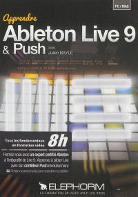 Ableton Live 9 & Push : tous les fondamentaux en formation vidéo 8h