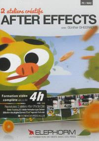 After Effects : 2 ateliers créatifs : tracking 3D et animation