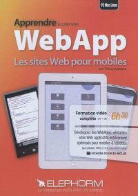 Apprendre à créer une Web APP : les sites Web pour mobiles