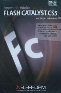 Apprendre Adobe Flash Catalyst CS5 : formation vidéo complète en plus de 3h