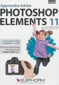 Apprendre Adobe Photoshop Elements 11