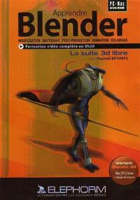 Apprendre Blender 3D : le logiciel 3D Opensource
