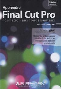 Apprendre Final Cut Pro : formation aux fondamentaux