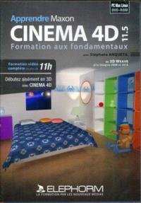 Apprendre Maxon Cinema 4D 11.5 : formation aux fondamentaux : formation cinéma 4D