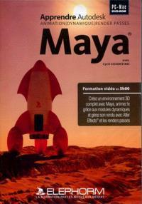 Apprendre Maya (Animation - Dynamique - Render Pass) : formation 3D à Maya