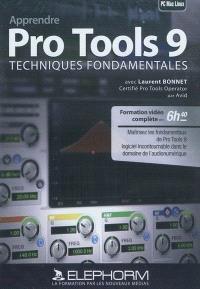Apprendre Pro Tools 9 : techniques fondamentales