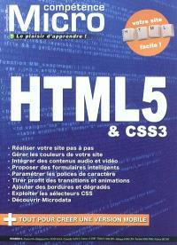 Compétence Micro. n° 5, HTML5 & CSS3