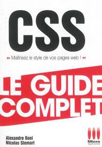 CSS : maîtrisez le style de vos pages web