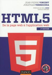 HTML 5 : de la page Web à l'application Web