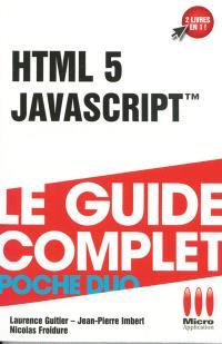 HTML 5 et JavaScript