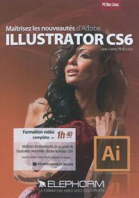 Maîtrisez les nouveautés d'Adobe Illustrator CS6