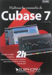 Maîtrisez les nouveautés de Cubase 7 : formation complète en plus de 2 h