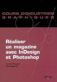 Réaliser un magazine avec InDesign et Photoshop