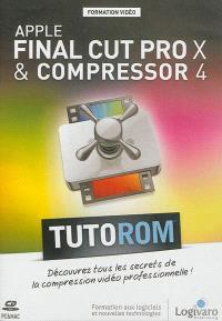 Apple Final Cut Pro X & Compressor 4 : découvrez les secrets de la compression vidéo professionnelle !