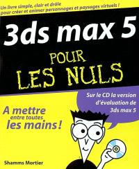 3DS Max 5 pour les nuls