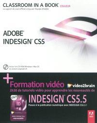 Adobe inDesign CS5 + formation vidéo