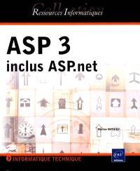 ASP 3 : inclus ASP.net