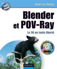 Blender et POV-Ray : la 3D en toute liberté