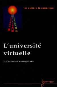 Cahiers du numérique (Les). n° 2 (2000), L'université virtuelle