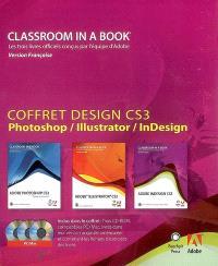 Coffret Design CS3 : Photoshop, Illustrator, InDesign