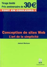 Conception de sites Web : l'art de la simplicité