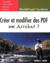 Créer et modifier des PDF avec Acrobat 7