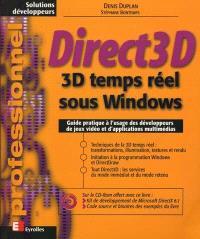 Direct 3D : 3D temps réel sous Windows