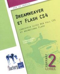 Dreamweaver et Flash CS4 : concevoir sites Web full CSS et animations Flash