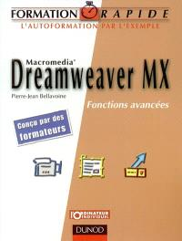 Dreamweaver MX : fonctions avancées