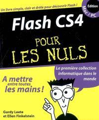 Flash CS4 pour les nuls, édition Mac-PC