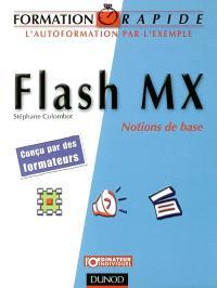 Flash MX : notions de base